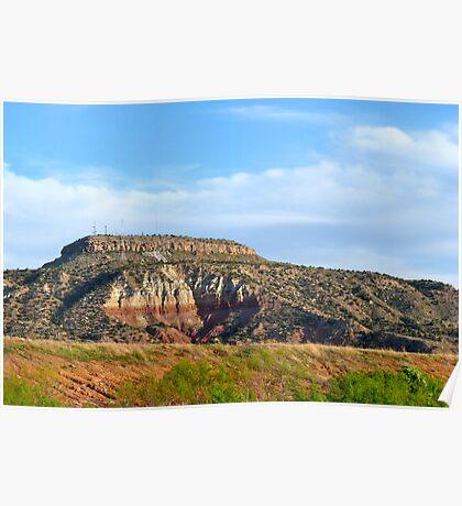 Tucumcari Mesa Poster