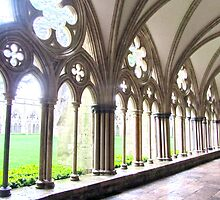Morning Sun in the Cloisters by Julia Milner