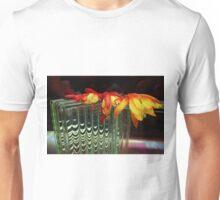 Falling Flat - Texturized Unisex T-Shirt
