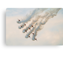 Red Arrows, Whitby Regatta, 2007 Canvas Print