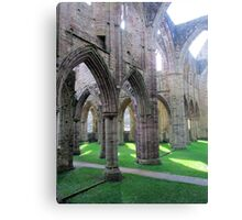 Where Monks Once Walked Canvas Print