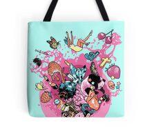 Exploding Gumball (Bubble Glum) Tote Bag