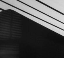 Film Noir Venetian Blind Shadows Sticker