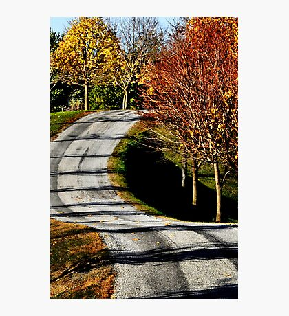 The long & winding road... Photographic Print