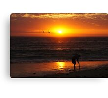 Ball Of Fire 2 Canvas Print
