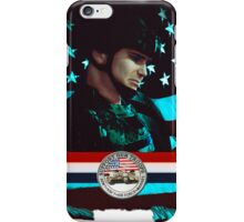 Support our troops iPhone Case/Skin