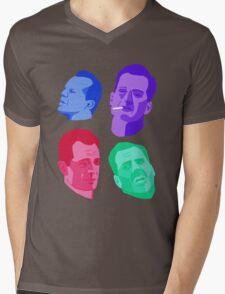 John McClanes Mens V-Neck T-Shirt
