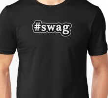 Swag - Hashtag - Black & White Unisex T-Shirt