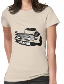 Mini-mal T Womens Fitted T-Shirt