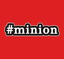 Minion - Hashtag - Black & White One Piece - Short Sleeve