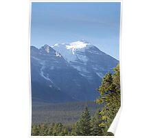 Mountain at Lake Louise Poster