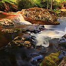 rock pools, halls falls. northeast tasmania by tim buckley | bodhiimages