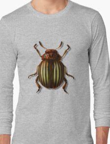 Leptinotarsa septemlineata Long Sleeve T-Shirt