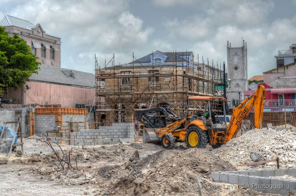 Work to rebuild Pompey Museum - Nassau, The bahamas by Jeremy Lavender Photography
