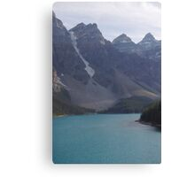 High Above Moraine Lake Canvas Print