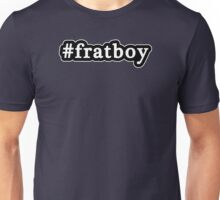 Frat Boy - Hashtag - Black & White Unisex T-Shirt