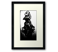 The black mage Framed Print