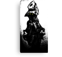 The black mage Canvas Print
