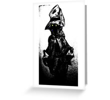 The black mage Greeting Card