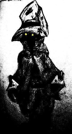 The black mage by Kewpid