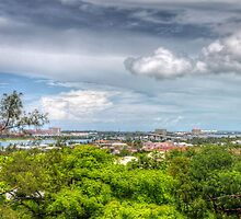 View of Nassau, The Bahamas from Fort Fincastle by Jeremy Lavender Photography