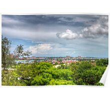 View of Nassau, The Bahamas from Fort Fincastle Poster