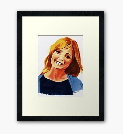 Holly Framed Print