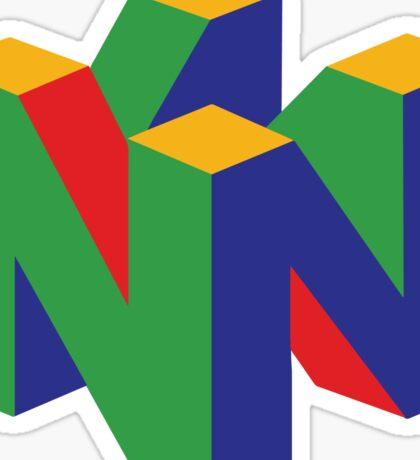N64 Logo Sticker