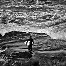 Lone Surfer by Luke Donegan