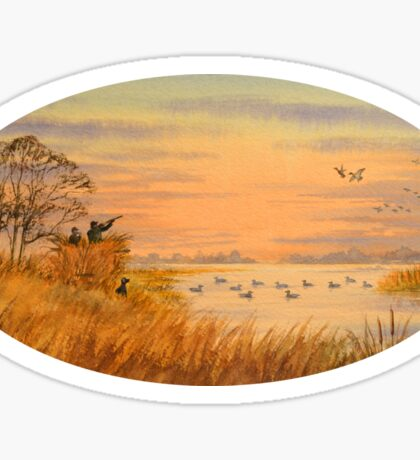 Duck Hunting Calls Sticker