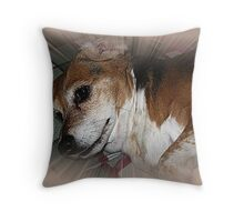 The Sweetest Dog Throw Pillow