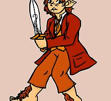 Bilbo Baggins by melekinh