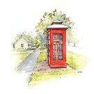 Telephone Boxes, Ross by Muriel Sluce by Wendy Dyer