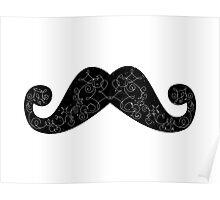 Dia De Los Mustache Poster