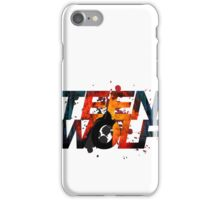 Teen Wolf Howling Wolf iPhone Case/Skin