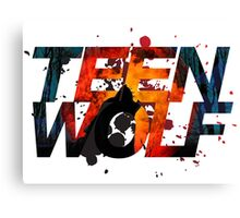 Teen Wolf Howling Wolf Canvas Print