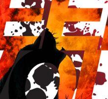 Teen Wolf Howling Wolf Sticker