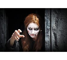 Are You Scared ? Photographic Print