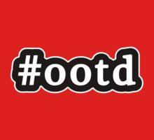 OOTD - Hashtag - Black & White One Piece - Short Sleeve
