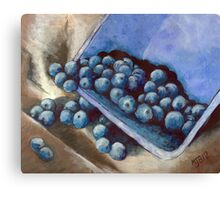Blueberry Delight Canvas Print