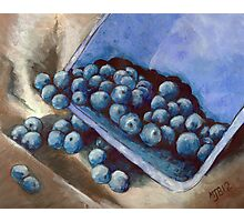Blueberry Delight Photographic Print