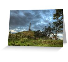An Evening on One Tree Hill Greeting Card