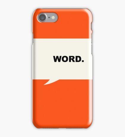 Penguin orange iPhone Case/Skin
