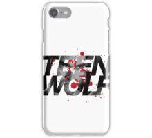Teen Wolf - Derek Hale 2 iPhone Case/Skin