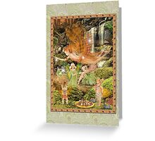 Fairy Dreams greeting card 8 Greeting Card