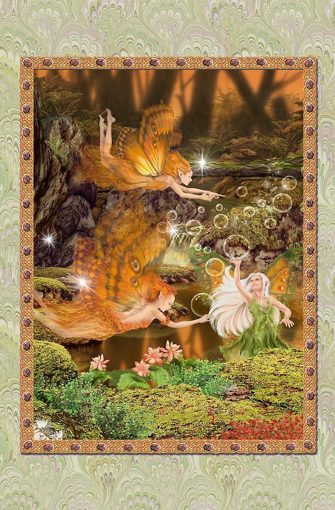 Fairy Dreams greeting card 9 by Carol McLean-Carr