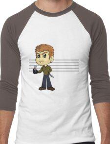 Dexter's slide show Men's Baseball ¾ T-Shirt