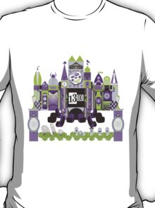 Is This Small World Actually Stretching? (for Darker Rides) T-Shirt