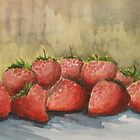 Strawberries by Kostas Koutsoukanidis