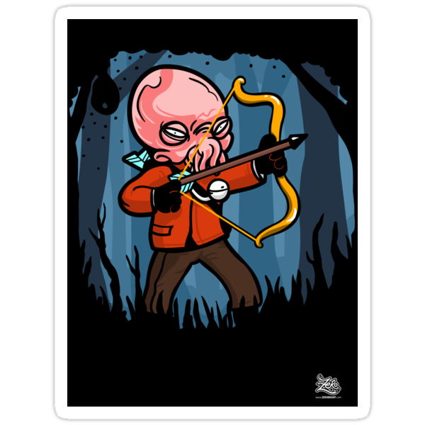 Ood in Your Favor -Stickers! by zerobriant